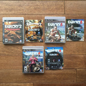 Playstation 3 PS3 - Far Cry Games