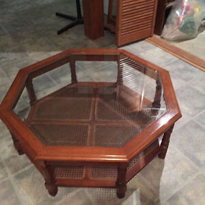 Octagon coffee table for sale