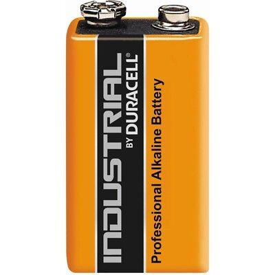 9v Alkaline-batterie (10x MN1604 IN1604  9V E-Block Alkaline-Batterie Duracell industrial Procell)