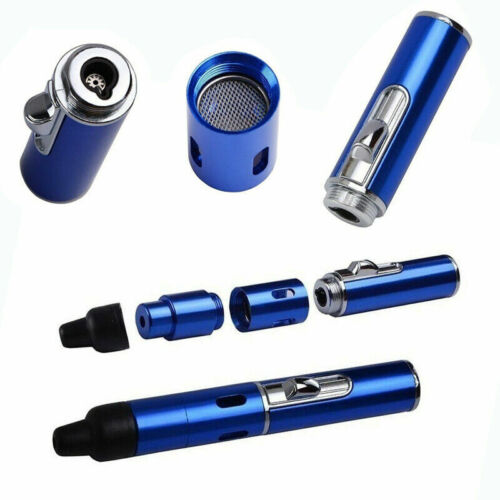 ONE SMOKING PIPE WITH BUILT IN LIGHTER COMBO, a Tobacco metal sneak pipe toke.