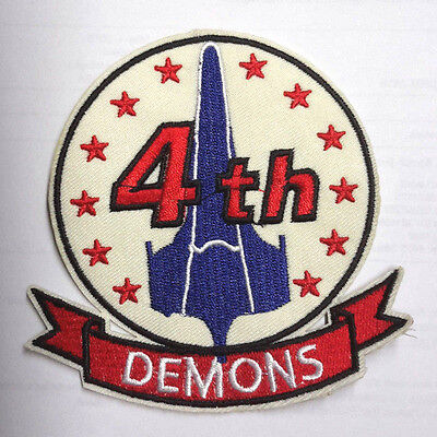 "Battlestar Galactica Viper Pilot 4th Demons 4"" Uniform Patch-USA Mailed(BGPA-21)"