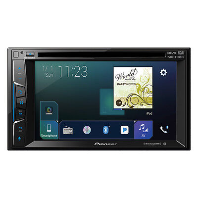 "Pioneer 2-DIN Car Stereo DVD Player Receiver with 6.2"" Touchscreen Display"