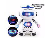 Robot Dancing Electric Toy, Singing, Swinging, ** GREAT GIFT TOY TO MAKE KIDS HAPPY