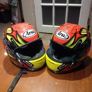 Arai colin Edwards rx 7rr motorcycle helmets