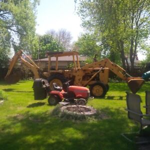 1969 Oliver Industrial Backhoe