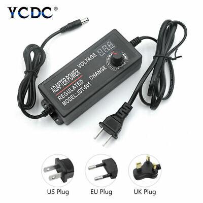 Ac To Dc Switching Power Supply Voltage Adjustable Adapter 3-12v9-24v24-36v 0
