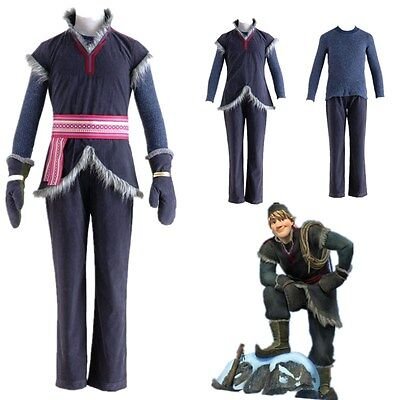 Frozen Kristoff Outfit Cosplay Costume Handmade Full Set - Kristoff Frozen Costume