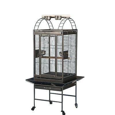 High Quality Large For Parrot Macaw Canary Finch Breeding Bird Metal Cage B62