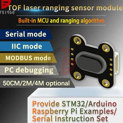 Laser Distance Sensor Module Tof050f 200f 400f Modbus Iic Serial Port Output