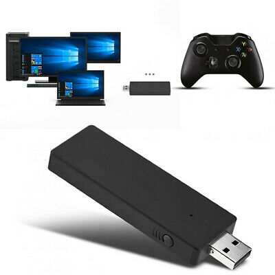 USB Wireless Gaming Receiver Adapter For XBOX One Controller PC WIN 10...