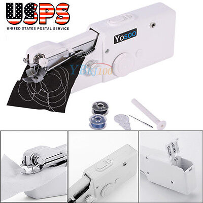 Mini Portable Smart Electric Tailor Stitch Hand-held Sewing Machine Home (Tailor Sewing Machines)