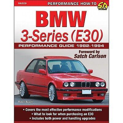 BMW 3-Series (E30) Performance Guide 1982-1994 - Book SA229