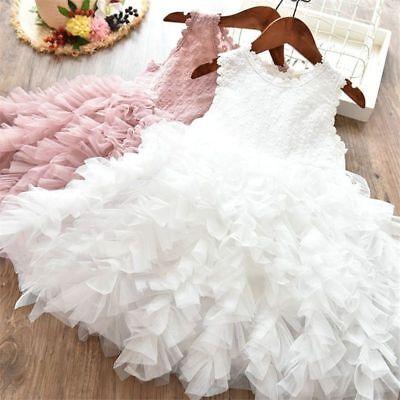 Girls Kids Dress Fluffy Tutu Skirt Princess Party Costume Dress Skirt Ballet](Fluffy Girls)