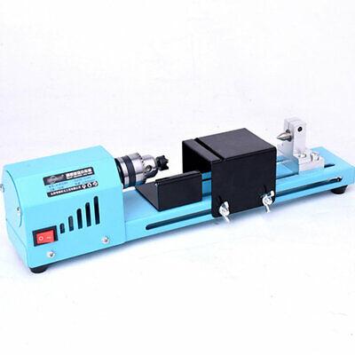 150w Mini Woodworking Lathe Beads Cutting Machine Drill Polishing Diy Tools Cs