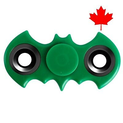 Batman Fidget Spinner EDC Stress Relief Focus Fun Bat Toy for Kids Adults- Green