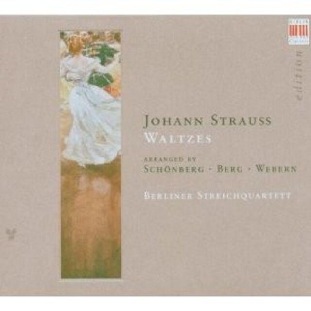BERLINER STREICHQUARTETT - WALZER  CD NEU