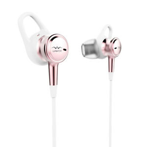 NEW: Linner Active Noise Cancelling Wired Earphones (Rose Gold)