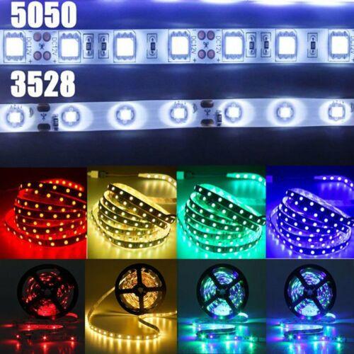 5-20 Meters Flexible Strip Light 3528 5050 RGB LED SMD Light