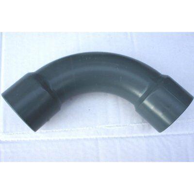 PVC Bogen 50 mm - 90° Pool Installation Filter für PVC Rohr 50 mm zum kleben (Pool-installation)