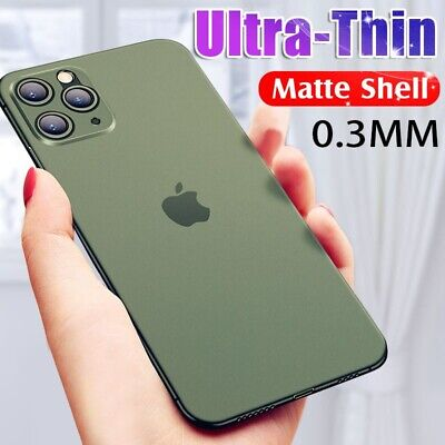 Matte Transparent Ultra-Thin Slim Case Cover Skin For iPhone 11 Pro Max XS XR -