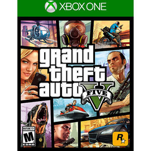GTA 5 For Xbox One Mint Condition.