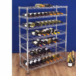 Stainless Steel Wine Rack $100 or best offer
