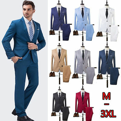 High Quality Suit Groom's Best Man Costume Business and Leisure Suit A (Best Costume For Men)