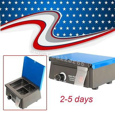 Ce Dental 3-well Digital Analog Wax Melting Pot Heater Melter Rapid Heating Usa