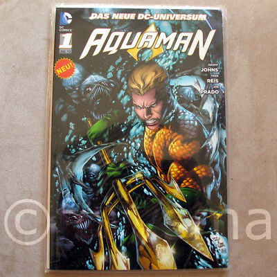 Dc Comics Superhelden (DC Panini Comics AQUAMAN Band 1 DER GRABEN Comic Sammlung Superhelden RARITÄTEN)