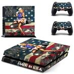 158 Sticker skin wrap ps4 stickers playstation 4 + 2x contro