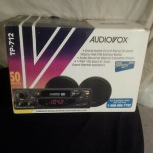 CAR STEREO SYSTEM WITH 100 WATT SPEAKERS