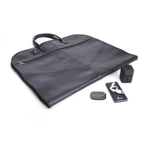 Royce Luxury Travel Set: Garment Bag with Tracking Device, Porta