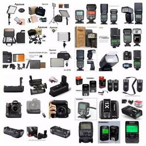 Photographic and video accessories at photovideomart.com
