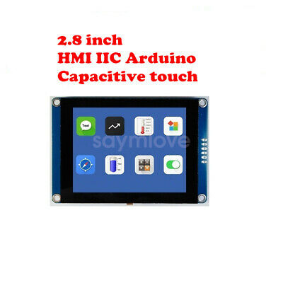 New 2.8 Inch Hmi I2c Lcd Display Module Capacitive Touch Screen For Arduino