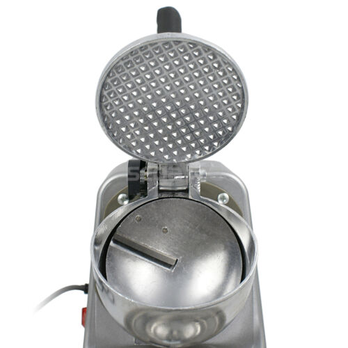Electric Ice Crusher Shaver Machine Snow Cone Maker Shaved Ice 143 lbs Silver Business & Industrial