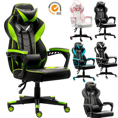 Gaming Racing Swivel Chair Computer Leather High Back Executive Ergonomic Chair