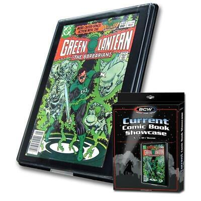 BCW Comic Book Showcase - Framed Display - Current or Silver Age - Mix and -