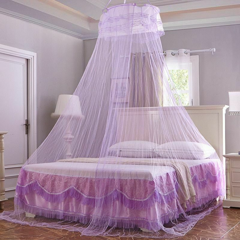 Elegant Canopy Mosquito Net For Double Bed Mosquito Repellen