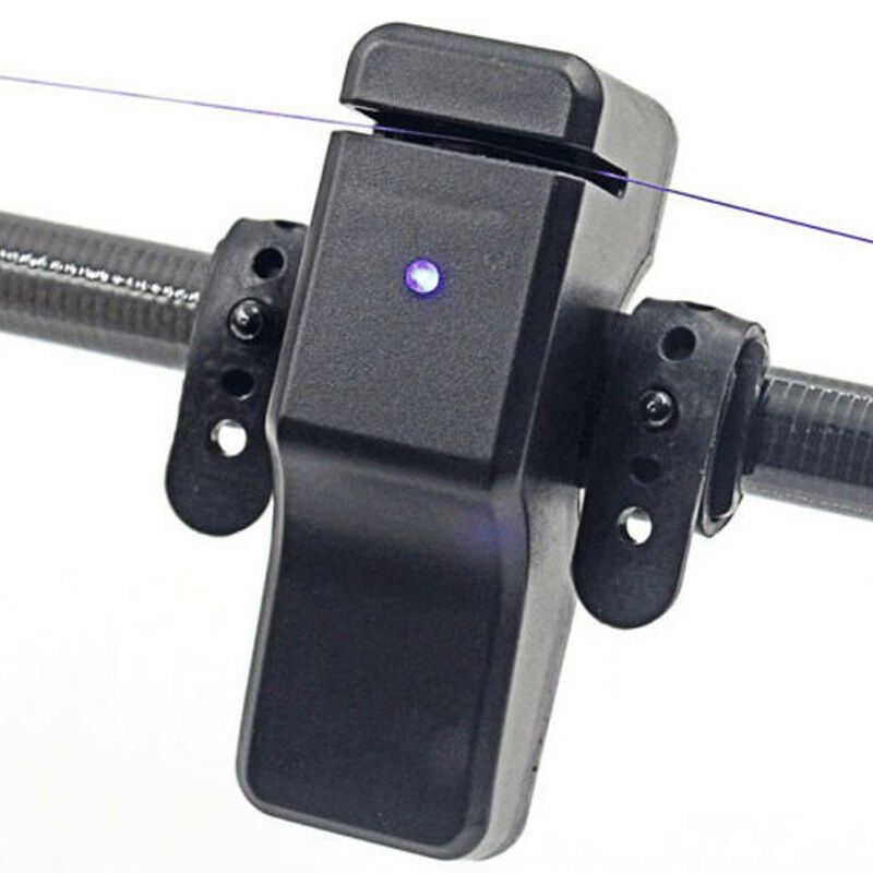 Electronic High Sensitive LED Light Fish Bite Sound Fishing Alarm Indicator Bell