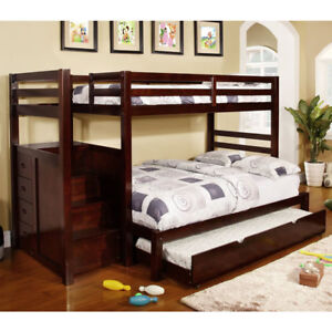 B-119 Twin/Full Bunk Bed - Overstock Blowout - Save Up To 50%