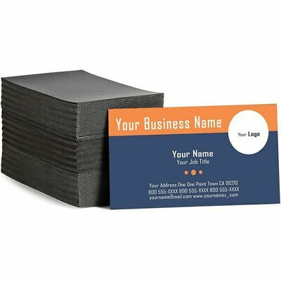 Self Adhesive Business Card Magnets With Brown Cards Peel And Stick 100 Pack