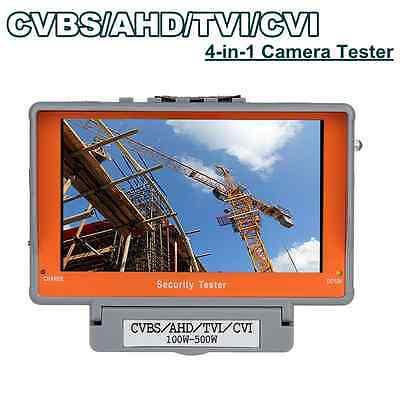 4 In 1 Tester Monitor Tvi Cvi Ahd Cvbs Security Cctv Camera Test 5 Battery