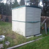 Large rubbermaid storage shed