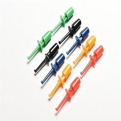 Multi-color 10 Pcs Mini Test Hook Clip Test Probe Testinggkv