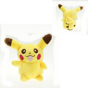Pokemon-Pikachu-Laugh-Morbido-Peluche-Giocattolo-Peluche-Animal-Bambola-14cm