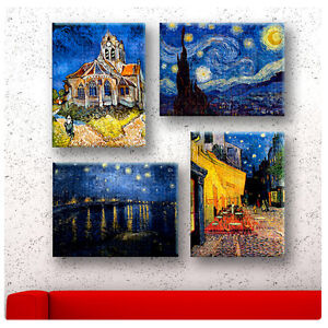 Van Gogh SET 4pcs 24