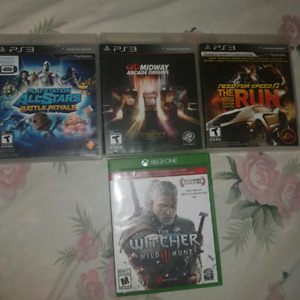 ps3 games + one xbox game