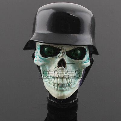 Universal Car Truck Manual Stick Gear Shift Knob Lever Shifter Skull Head Hat