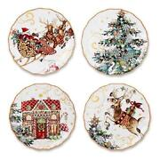 Williams Sonoma Christmas Plates