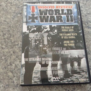 Unsolved Mysteries WW II Disc 1 Kingston Kingston Area image 1